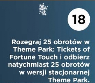 Darmowe spiny na theme park tickets of fortune 1 2